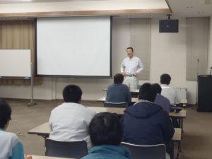 講習会を行う小林労働安全コンサルタント